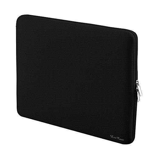 LSS Borsa della cerniera del manicotto morbido per 15-inch 15' 15.6' MacBook Pro Retina Ultrabook Laptop Notebook Portatile