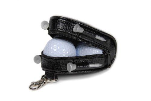 CEBEGO® Golf-Bag Caddy,Mini Golfbox zum Anhängen,Golfartikel Golfzubehör mit Golfbälle und Golftees