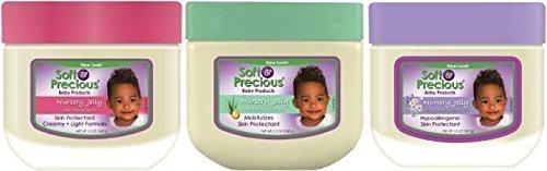 Weiche & Kostbare Baby Kindergarten-gelee TRIO PACK - 3 Verschiedene Baby Vaseline Jelly's