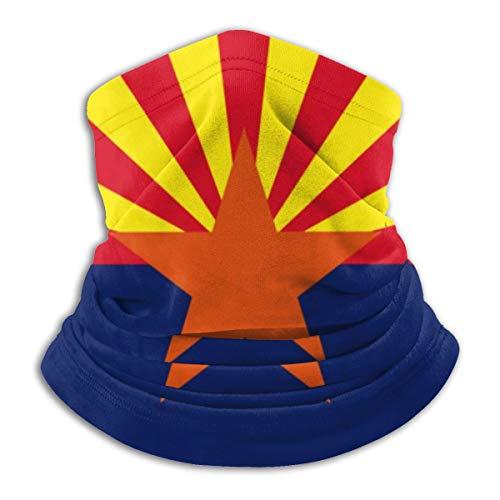 Neck Gaiter Scarf Arizona State Flag Versatile Sports & Casual Headwear Neck Warmer, As A Bandana, Balaclava