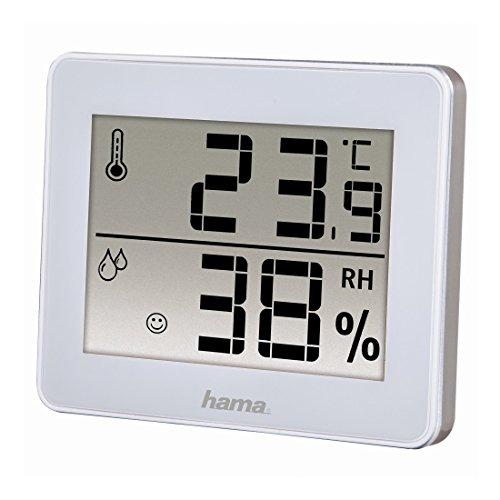 Hama th-130–Wetterstation (Monochrom, CR2025, weiß)