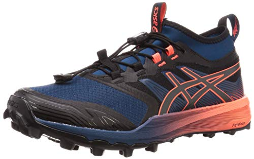 Asics Fujitrabuco Pro, Zapatillas de Running para Hombre, Azul (Mako Blue/Graphite Grey 400), 45 EU