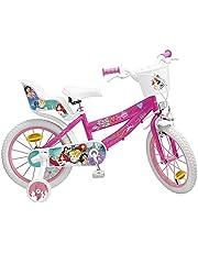 Pik&Roll Prinses meisjesfiets, 16 inch, roze
