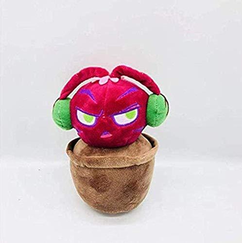 Cartoon-Pflanze Plüschtier Pflanzen gegen Zombies Plüschtiere Sonnenblumener Erbsen weiche gefüllte Plüschtiere Puppenspielzeug für Kinder Geschenke Parteispielzeug 15cm Gzzxw