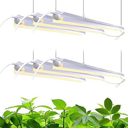 Barrina Plant Grow Light, 252W(6 x 42W, 1400W Equivalent), Full Spectrum,...