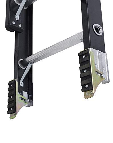 DeWalt DXL3020-20PT 20-Foot Fiberglass Extension ladder Type IA with 300-Pound Duty Rating,Yellow