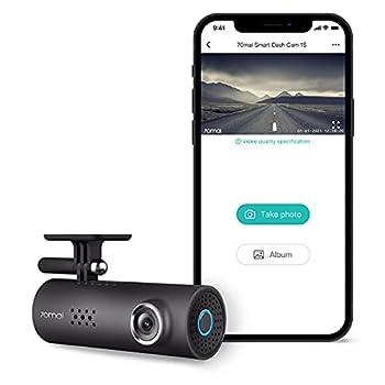 70Mai Smart Dash Cam 1S Dash Cam Recorder Camcorder 1080p Night Vision Wide Angle G-Sensor Loop Recording App WiFi Voice Control  2020