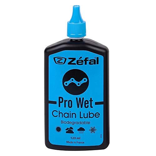 Zefal Unisex's Pro Wet Chain Lube, Black, 120ml