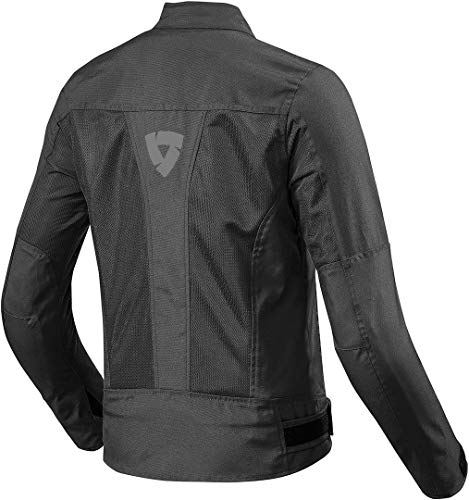 FJT224 - 0010-L42 - Rev It Eclipse Ladies Motorcycle Jacket 42 Black (UK 14)