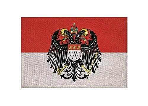 U24 Aufnäher Köln mit großem Wappen Fahne Flagge Aufbügler Patch 9 x 6 cm