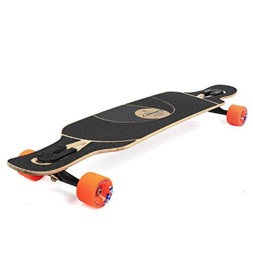 Loaded Boards Tan Tien Bamboo Longboard Skateboard Complete (80a Stimulus, Flex 1)