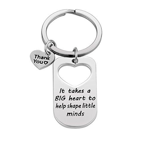 Teacher Appreciation Gift for Women - Teacher Keychain Teacher Jewelry Teacher Gifts,Thank You Gifts for Teacher, Christmas Gifts for Teacher Valentine's Day Gift Photo #4