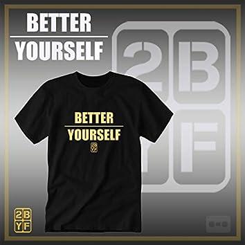 2BYF Blacc T Gold Logo