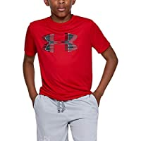 Deals on Under Armour Boys Tech Big Logo Solid T-shirt