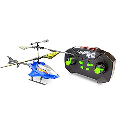 Bladez Toyz BTHW-H01 Bite Hot Wheels DRX Tiger Shark Helicopter, Green from Bladez Toyz