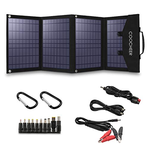 COOCHEER SPortable Solar Panel With USB Devices