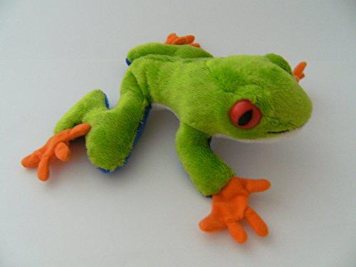 Unbekannt Stofftier Rotaugenlaubfrosch 16 cm, Kuscheltier Plüschtier Frosch Frösche