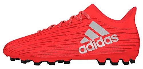 adidas X 16.3 AG, Scarpe da Calcio Uomo, Rosso (Solar Red/Silver Met,/Hi-RES Red), 42 2/3 EU