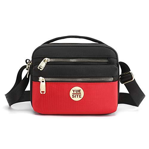 Pomety Cintura de la Cintura Fanny Pack Cinturón para Hombres Mujeres Unisex Bolsa Bum Bag con Auriculares Jack y Bolsillos con Cremallera Cinturón Ajustable para al Aire Libre Entrenamiento Pista de