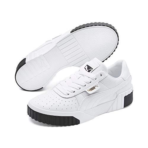 Puma Damen Cali WN's Sneaker, Weiß (Puma White-Puma Black), 39 EU