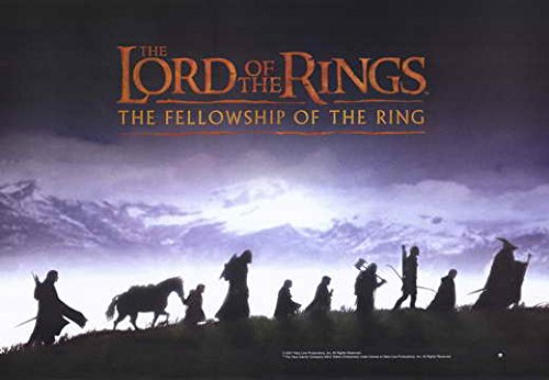 Lord of The Rings 1: The Fellowship of The Ring Poster Movie (11 x 17 Inches - 28cm x 44cm) (2001) (Style I)
