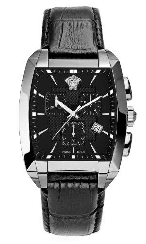 Versace Charactere Tonneau WLC99D008D009 - Reloj de Pulsera para Hombre (cronógrafo, Mecanismo de Cuarzo)