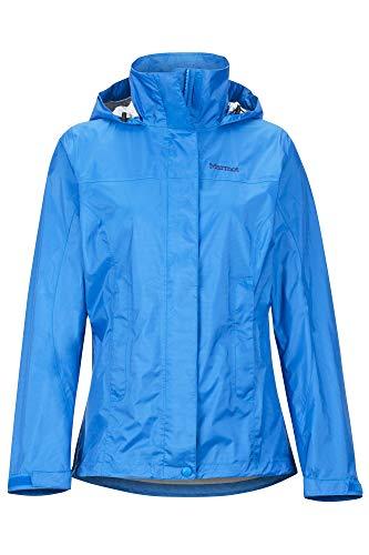 Marmot Damen Hardshell Regenjacke, Wasserdicht, Winddicht & Atmungsaktiv Wm's PreCip Eco Jacket, Classic Blue, M, 46700