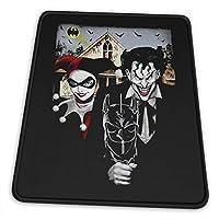 マウスパッドharley Quinn The Joker American 滑り止め ゲーミング 耐摩耗性 高耐久性 疲労低減 水洗い ファッション オフィス/ゲーム/パソコンなどに適用 (4サイズを選択可能)
