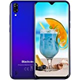 Mobile Phone, Blackview A60 SIM-Free Smartphone Unlocked, 6.1-Inch IPS Full-Screen, 16GB Dual SIM Android 8.1 Unlocked Mobile Phone, 4080mAh Battery, 5MP+13MP Dual Camera, UK Version - Gradient