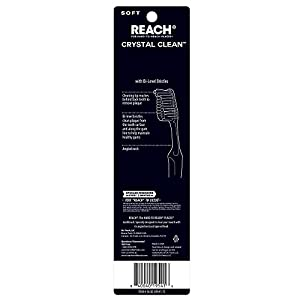 Reach Crystal Clean Soft Value Pack Adult Toothbrushes, 2 Count