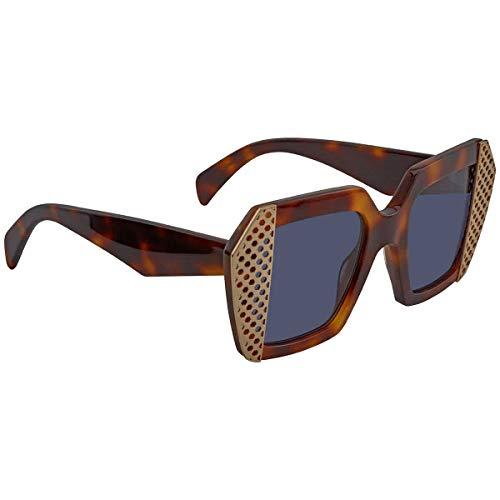 Sonnenbrille Oxydo O.NO 2 9 0086 KU dark havana/blue avio