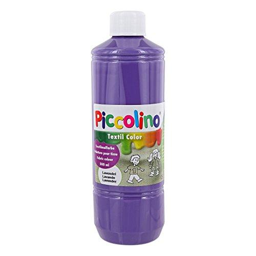 Piccolino Peinture Textile Lavande 500 ML – Peinture Textile Couleur Textile