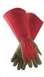 West County 054RL Gauntlet Rose Glove, Ruby, Large