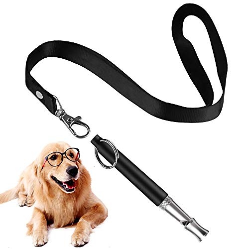 Mumu Sugar Professional Dog Whistles to Stop Barking, Trasonic Silent Dog Whistle Adjustable Frequencies, Effective Way of Training, Whistle Dog Whistle for Recall Training for Dogs