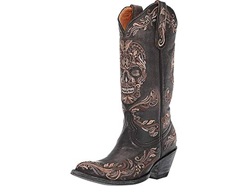 Best skull cowboy boots womens