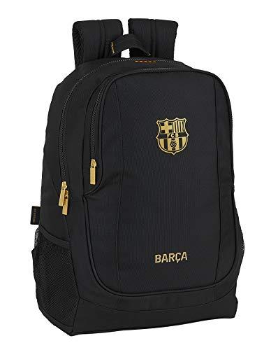 Mochila Safta Escolar de F.C. Barcelona 2ª Equip. 20/21, negro, 320x160x440mm