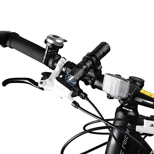Olight FB-1 Universal Fahrradhalterung für Taschenlampe mit max. Durchmesser. von 10 mm bis 35 mm, Ideal für das Radfahren, verstellbare, Flexible, elastische Halterung - 3