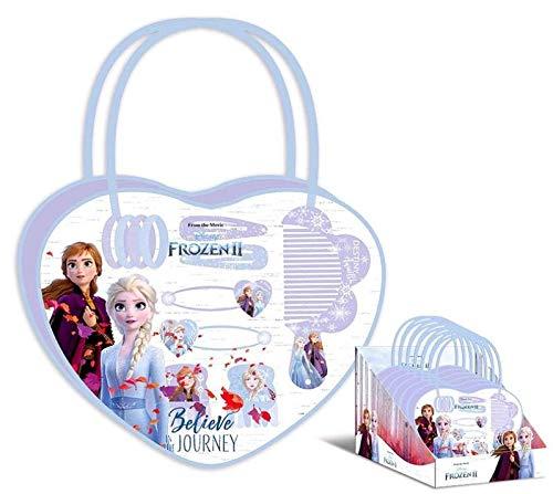 Kids Licensing- Frozen II Bolso Peine y Accesorios de Pelo (WD20768)