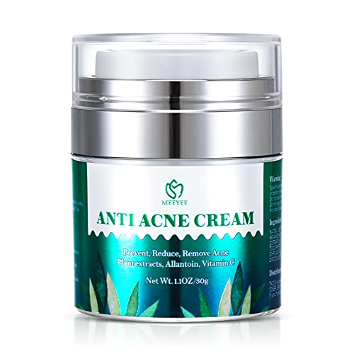 MEEYEE Anti Acne Treatments Cream, Acne Scar Removal Cream, Acne Face...