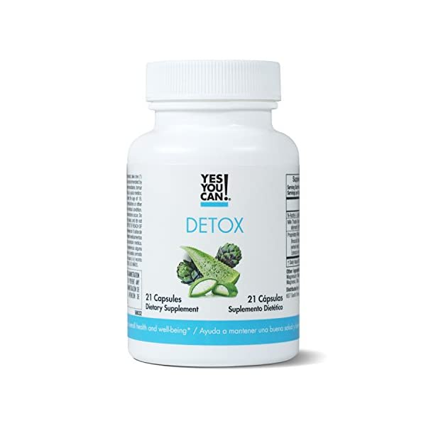 Detox products Yes You Can! Detox – 7 Day Quick Cleanse to Support Detox, Reach Ideal Weigh