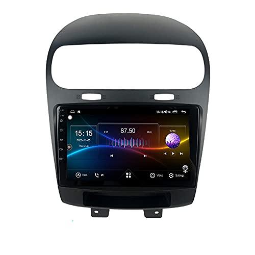 XISEDO Android Autoradio per Fiat In-dash Car Radio 9 Pollici Car Stereo Navigatore GPS con Schermo di Tocco Nessun lettore DVD (Freemont 64G)