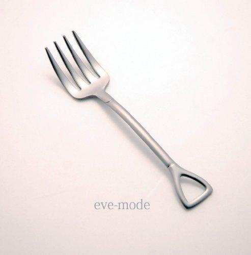 eve-mode The country story スコップ型シャベルフォーク 小 つや消し仕上げ ブラスト