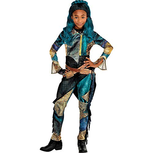 Party City Uma Halloween Costume for Girls, Descendants 3, Medium, Includes Accessories