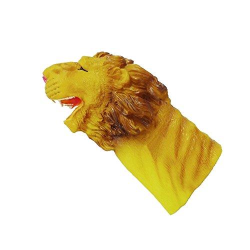 drôle Marionnettes à doigts / marionnettes enfants, plastique / lion