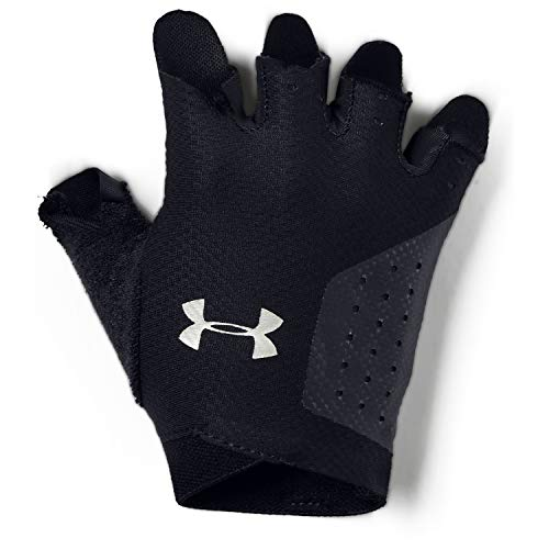 Under Armour Women's Training Glove Guantes, Mujer, Negro (Black/Silver 001), L