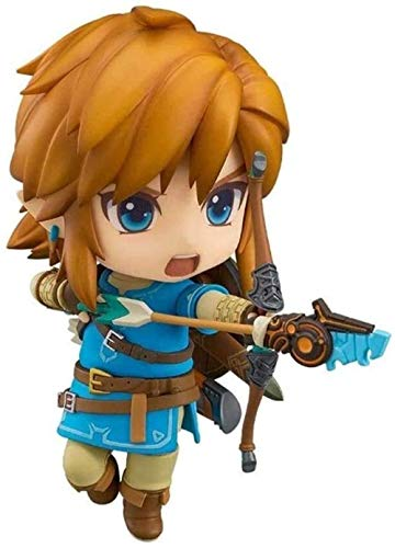 WIJJZY The Legend Of Zelda Anime Action Figure Link Nendoroid PVC Figures Collectible Model Character Statue Model Birthday Gift Statue Collection Decoration