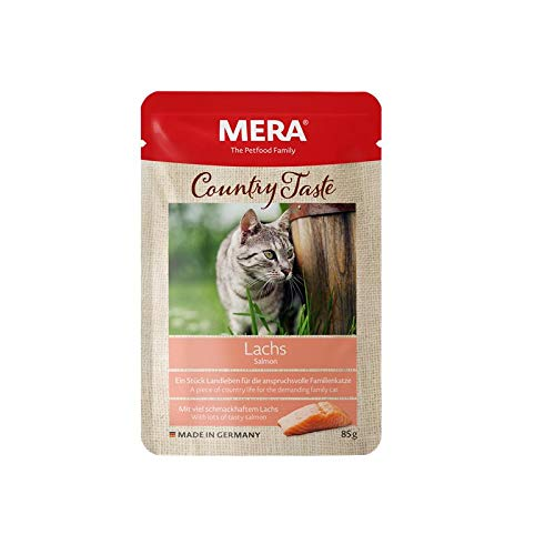 MERA Country Taste Lachs | 12x 85g Katzenfutter nass