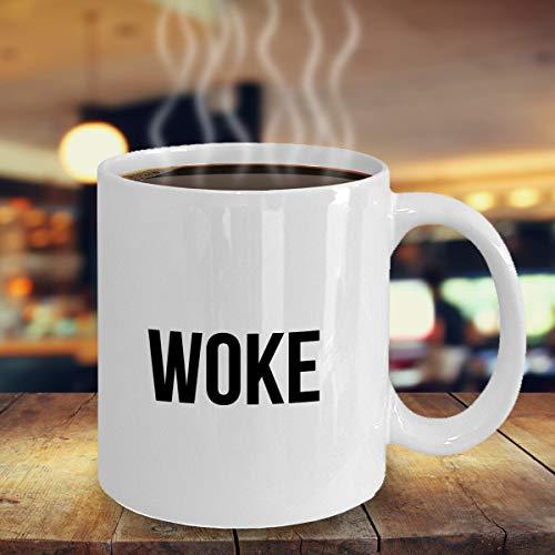 DKISEE Woke, Urban Dictionary Word Mug - Taza de regalo para