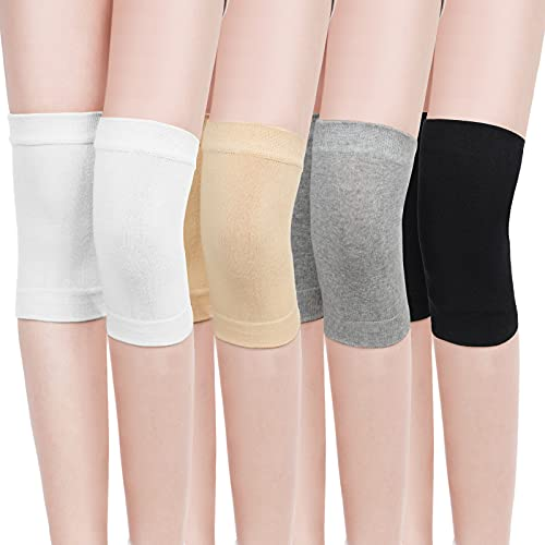 4 Pairs Knee Compression Sleeves Breathable Non-slip Knee Brace Running Knee Support Pain Relief...