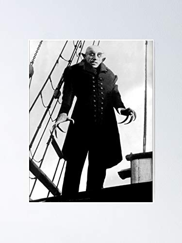 MCTEL Nosferatu Poster 11.7x16.5 Inch Frame Board for Office Decor, Best Gift Dad Mom Grandmother and Your Friends